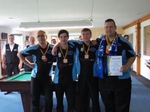 2. Platz 1. Chemnitzer Billard Crew